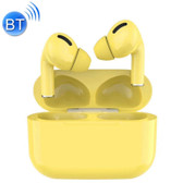 tws macaron touch bluetooth earphone hifi sound hdcalling popup location yellow