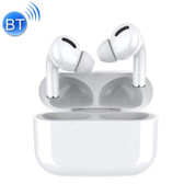 tws macaron touch bluetooth earphone hifi sound hdcalling popup location white