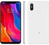"xiaomi mi 8 6gb 128gb octa-core dual sim 6.21"" fingerprint android 10 nfc white"