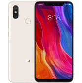 "xiaomi mi 8 6gb 128gb octa-core dual sim 6.21"" fingerprint android 10 nfc gold"