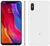 "xiaomi mi 8 6gb 64gb octa-core dual sim 6.21"" fingerprint android 10 nfc white"