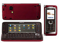 "original nokia e90 unlocked red colors 4.0"" screen gps 3g symbian"