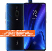 "xiaomi redmi k20 pro 6gb 64gb dual sim 6.39"" fingerprint android 10 lte blue"