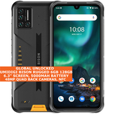 umidigi bison rugged 6gb 128gb waterproof dualsim 6.3 fingerprint android yellow
