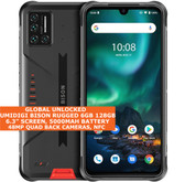 umidigi bison rugged 6gb 128gb waterproof dualsim 6.3 fingerprint android orange