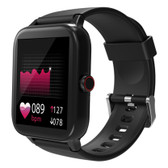 blackview r3 pro bluetooth fitness track rate monitor 12 sports mode watch black