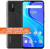"""Umidigi A7s Thermometer 2gb 32gb Dual Sim 6.53"""" Face Id Android 10 lte 4g black"""