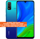 "Huawei P Smart 4gb 128gb Octa Core 6.21"" Fingerprint Dual Sim Android Nfc Blue"