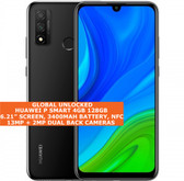 "Huawei P Smart 4gb 128gb Octa Core 6.21"" Fingerprint Dual Sim Android Nfc Black"