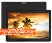 Hongsamde 4g Call Tablet 2gb 32gb Octa Core 10.1 Inch Dual Sim Android 4g Black