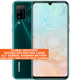 "DOOGEE N20 PRO 6gb 128gb Mtk6771v Octa Core 6.3"" Fingerprint Android 10 4g Green"