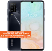 "DOOGEE N20 PRO 6gb 128gb Mtk6771v Octa Core 6.3"" Fingerprint Android 10 Grey"