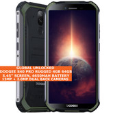 "DOOGEE S40 PRO Rugged 4gb 64gb Waterproof 5.45"" Fingerprint NFC Android green"