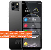 "ANICA K-TOUCH S11S 6gb 64gb Quad Core 4.8"" Face Id Dual Sim Android 9.0 4g Black"
