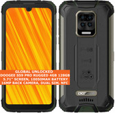 """DOOGEE S59 PRO RUGGED 4gb 128gb Octa Core 5.71"""" Fingerprint Android 10 4g Green"""