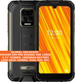"DOOGEE S59 PRO RUGGED 4gb 128gb Octa Core 5.71"" Fingerprint Android Black"
