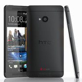 "htc one m7 32 gb black unlocked 4mp quad core 4.7"" screen android lte smartphone"