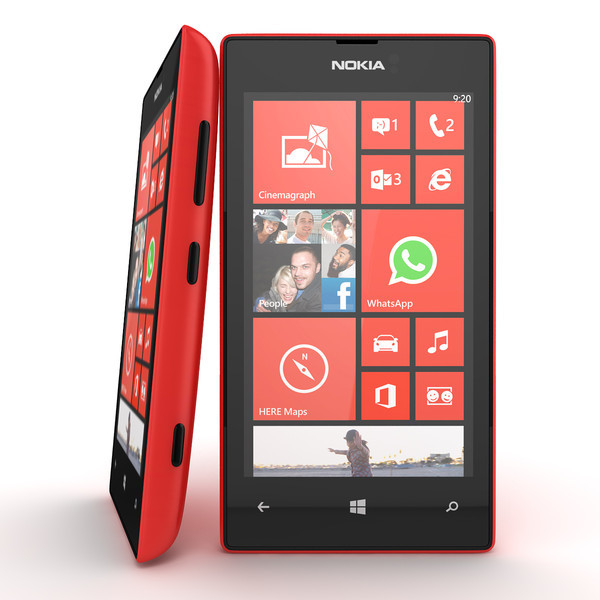 Nokia Lumia 520 8gb Unlocked Red Dual Core 5mp Camera Windows 8 Smartphone