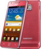 samsung i9100 galaxy s ii pink 1gb 16gb 8mp camera dual core android smartphone