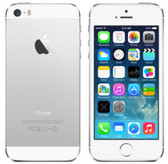 apple iphone 5s 32gb white dual core 8mp ios 12 lte 4g smartphone
