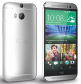 "htc one m8 16gb 2g quad core 5.0"" screen white smartphone + gifts"
