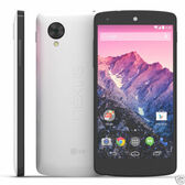 "lg nexus 5 d821 16gb quad core 8mp white 4g 4.95"" screen smartphone"