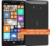 nokia lumia 930 32gb 2gb 20 mp camera quad core black smartphone