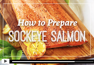 How to Prepare Sockeye Salmon