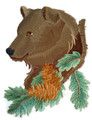 Bear In Pine