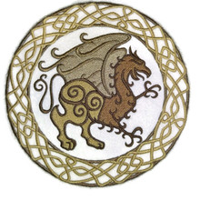 Celtic Gryphon Circle
