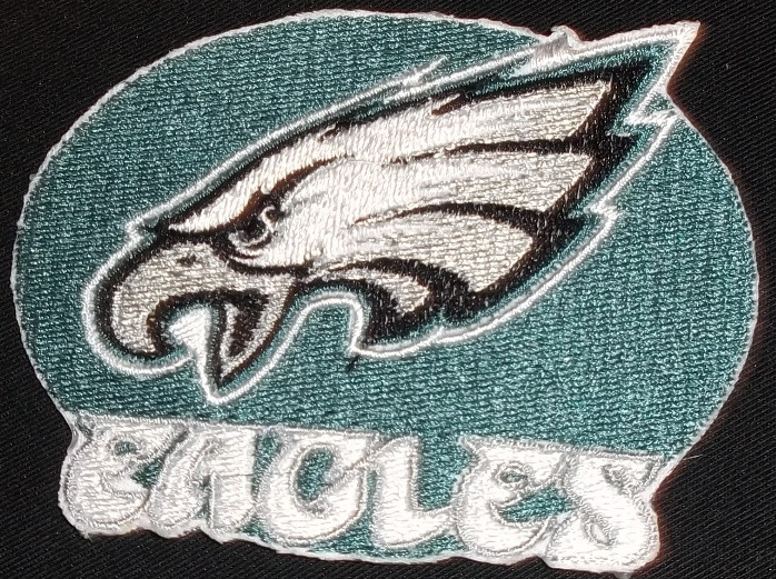 super popular b1b46 dadcc Philadelphia Eagles Iron On Patches