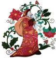 Merry Christmas [Suzani Santa Claus]