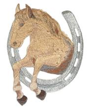 Horse & Horseshoe - Appaloosa