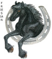 Horse & Horseshoe - Friesian
