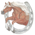 Horse & Horseshoe - Haflinger