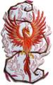 Phoenix In Fantasy Flames