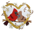 Cardinal Love Nest