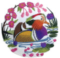 Mandarin Duck scene