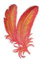 FlamingoFeathersinWatercolor