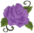 Single Rose (Purple shade )