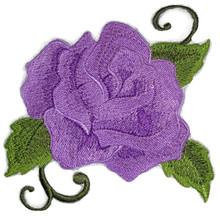 Single Rose (Purple shade )