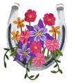 Horseshoe in Wildflowers