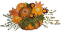 Pumpkin Floral Spray