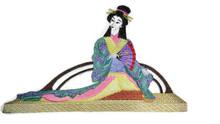 Lounging Geisha