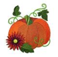 Autumn Elegance Pumpkin