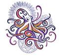 Octopus with Mehndi Echo