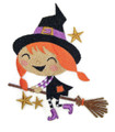 Winifred Witch Rides a Broom