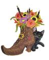 Halloween Boot Bouquet
