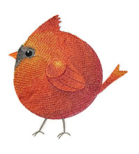Roly-Poly Cardinal