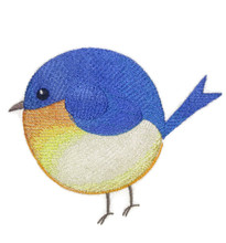Roly-Poly Bluebird
